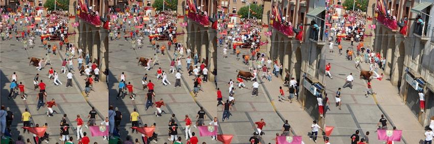 El Toro con Soga congrega en Lodosa a miles de personas procedentes de toda Navarra y de las provincias limítrofes. Una gran ocasión para venir a disfrutar en el Romero y dormir en el Hostal Romero