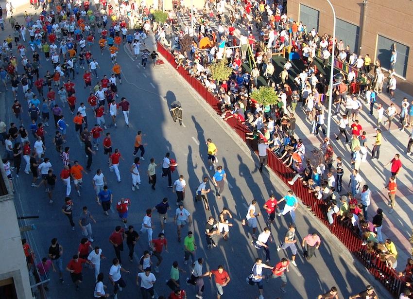 Este festejo taurino congrega a miles de personas procedentes de toda Navarra y de todas las provincias limítrofes